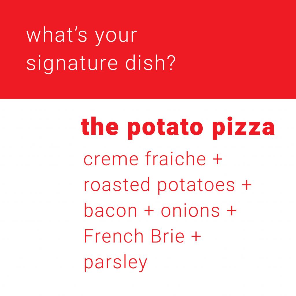 Seb's Signature Dish